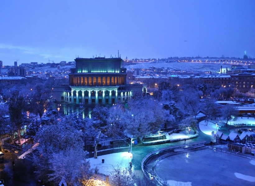 winter Yerevan