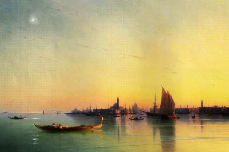 ayvazovsky Sunset in Venice