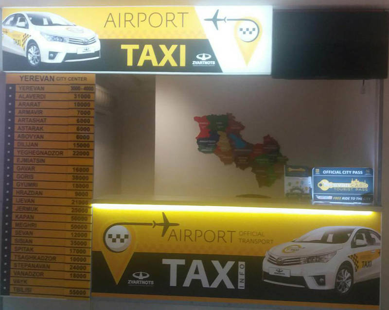 aiport taxi service