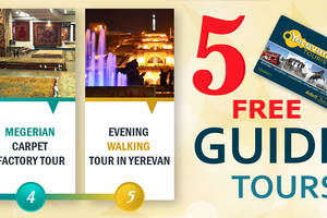 Free tours and excursions in Yerevan Armenia